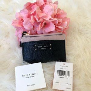 Kate Spade Jeanne Small Zip Card Holder